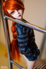 Kami (Luciana Duarte Foto) Tags: ball doll bjd luts delf arwen kami jointed leeke