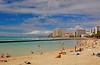 Beach Shot (jcc55883) Tags: sky clouds hawaii nikon waikiki oahu horizon waikikibeach yabbadabbadoo kalakauaavenue kuhiobeachpark kapahulugroin nikond40 waikikishoreline