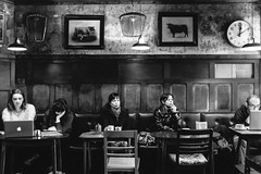 (Caballerophotos) Tags: street uk bw london coffee vsco cafecable