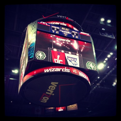 Verizon Center, 5:59 pm, April 9, 2014, #Wizards, #Bobcats, #DC, #Basketball, #Playoffs, #America.
