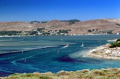 Bodega Bay, California, USA (Vern Krutein) Tags: travel summer usa mountains history industry northerncalifornia architecture coast harbor technology structure hills coastal maritime archives sonomacounty summertime bodegabay scenics northcoast workboat commercialfishing
