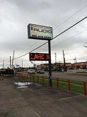 """International Audio Digital LED Sign <a style=""""margin-left:10px; font-size:0.8em;"""" href=""""http://www.flickr.com/photos/69723857@N07/13993948858/"""" target=""""_blank"""">@flickr</a>"""