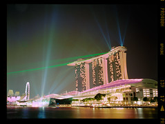 . (tsiklonaut) Tags: show city travel light color 120 film analog skyscraper marina hotel bay 645 singapore fuji drum centre towers center scan demonstration negative experience laser roll fujifilm lightning analogue sands expensive linn singapur metropol hunt analogica discover sinapore シンガポール ga645 c41 xpress drumscan analoog pmt pro400h ga645i öine photomultipliertube سنغافورة valgusmäng