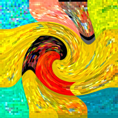 What Does Jazz Mean (soniaadammurray - SLOWLY TRYING TO CATCH UP) Tags: music abstract look manipulated movement experimental colours play jazz digitalphotography listen visualmusic