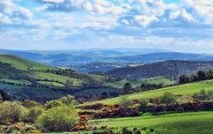Those Blue Hills (Jim Roberts Gallery) Tags: blue walking countryside scenery gallery shropshire relaxing hills e stunning colourful jrs housman a