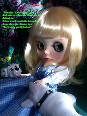"""Blythe-a-Day May2014#15:Wizard of Oz:Little Bea, Who Went """"Over the Rainbow"""""""