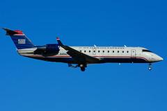 N456ZW (Air Wisconsin) (Steelhead 2010) Tags: yyz crj canadair crj200 airwisconsin usairwaysexpress nreg n456zw