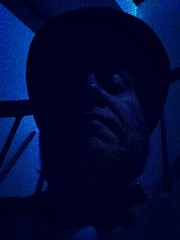 Day 1073 - Day 343: Scary Swain (knoopie) Tags: selfportrait me theater december doug backstage avenue year3 picturemail iphone 2014 knoop day343 365days knoopie 365more 365daysyear3 day1073 theatre22 mrswain hoursoflife