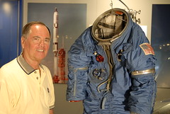 "Bob Crippen MOL Space Suite <a style=""margin-left:10px; font-size:0.8em;"" href=""http://www.flickr.com/photos/130192077@N04/15787801103/"" target=""_blank"">@flickr</a>"