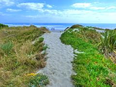 Whakatane, Bay Of Plenty, New Zealand (Sandy Austin) Tags: ocean newzealand beach pacific northisland bayofplenty whakatane ohope sandyaustin panasoniclumixdmcfz40