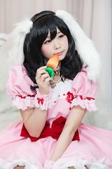 P55_028 (ms09Dom) Tags: cosplay コスプレ 東方project 因幡てゐ 五木あきら itsukiakira