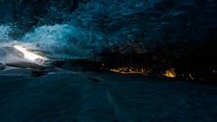 Sonnenaufgang in der Eishöhle (s2bproject) Tags: sunrise island iceland glacier gletscher sonnenaufgang icecave eishöhle