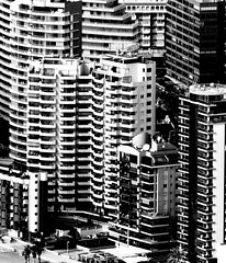 Benidorm High Rise #dailyshoot #Benidorm #Spain (Leshaines123) Tags: holiday colour monochrome contrast frames high spain apartments patterns panasonic rise benidorm calpe repeating dailyshoot vividandstriking leshainesimages