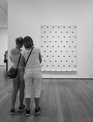 Mother and Daughter - D7K_1528_ep_gs (Eric.Parker) Tags: nyc bw usa ny newyork daughter mother moma museumofmodernart bigapple 2014