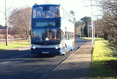 18001 - SF53 BZH (Cammies Transport Photography) Tags: park 2 castle drive fife via alexander dennis stagecoach dunfermline trident bzh in 18001 ferrytoll duloch sf53 sf53bzh pampr