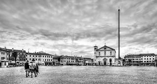 Scorcio di Palmanova (Glimpse of Palmanova)