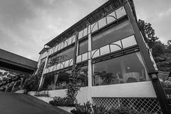 Casa De La Rosa Hotel (stratman (2 many pix and busy)) Tags: monochrome architecture blackwhite tanahrata cameronhighlands ultrawide efs1022mmf3545usm canonphotography hotelsandresorts eos7dmarkii casadelarosahotel