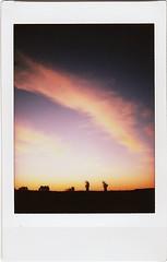 Lever de soleil sur la centrale de Golfech (Martin PEREZ 68) Tags: sunrise fuji instant instax instantan leverdusoleil instaxmini instantfilmcolor fujiinxtax instaxmini70