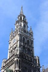 Munich Rathaus Tower (pegase1972) Tags: germany munich bayern bavaria europe cityhall rathaus bavire