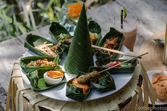 Nasi Campur (TSE_J) Tags: bali food forest indonesia monkey waterfall travels asia hiking south north east mount tirta empul ubud kuta batur berawa tegenungan