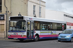 First Eastern Counties 42919 EU05AUL (Will Swain) Tags: great yarmouth 14th may 2016 bus buses transport travel uk britain vehicle vehicles county country england english norfolk south east town first eastern counties 42919 eu05aul