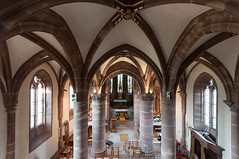 Colonnes Reinacker-109 (MMARCZYK) Tags: france architecture alsace glise gothique 67 voute basrhin xve gilge ludeman gilgeludeman