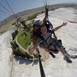 Paragliding over Pamukkale thumbnail