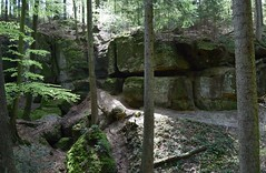 Felsenschlucht Kaisersbach / Welzheim (chrissie.007) Tags: wanderung welzheim felsenschlucht kaisersbach mhlenwanderweg schwbischerwald welzheimerwald hgelesklinge 20160430