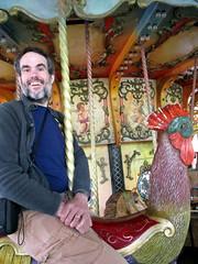 Joseph's Steed (BunnyHugger) Tags: chicken kentucky carousel amusementpark louisville cockerel kentuckykingdom bellamusica