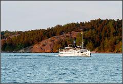 (Robert Hrlin) Tags: ferry sweden stockholm steamboat archipelago 1908 skrgrd blockhusudden waxholmsbolaget ngbt skrgrdsbt ssstorskr
