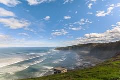 Playa de Pearrubia y la Providencia (Julin Martn Jimeno) Tags: espaa costa mar nikon asturias playa paseo gijon providencia maritimo cantabrico 2016 laprovidencia paseomaritimo pearrubia elrinconin rinconin d7000
