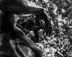 Sculpture (martina.stang) Tags: madrid sculpture woman hand bokeh pov head hmbt