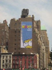27 Juillet 2007 - 12 - Simpsons Add (Patrick Limoges) Tags: new york city