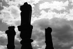 Three Upright Motives Henry Moore (paulusvp1) Tags: three statues henry moore upright hoge veluwe motives