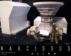 NARCISSUS37 (sith_fire30) Tags: sculpture building art scott miniature big model allen action alien aves ripley shuttle figure beast custom dayton diorama giger narcissus chap hrgiger prometheus sculpt styrene ridley xenomorph nostromo fixit sithfire30 covneant