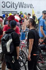 Ciclistas (vienadirecto) Tags: vienna street urban calle bicicleta criticalmass urbano viena vienne bycicle 2016 fahrad viennanakedride