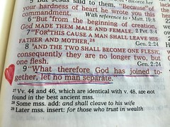Mark 10:9 (OakleyOriginals) Tags: love church god marriage holy devotion bible verse covenant holybible mark109