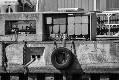 Lbeck Hafen (Seedeich) Tags: bw industry harbour luebeck v1 10100mmf4056vrn1