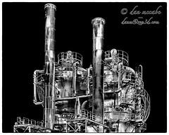 Steampunk Refinery (zen3d ) Tags: seattle historical derelict refinery gasworkspark steampunk urbex