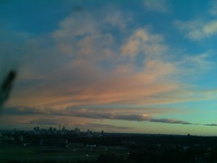 Sydney 2016 May 28 06:48 (ccrc_weather) Tags: sky outdoor sydney earlymorning may australia automatic kensington unsw weatherstation 2016 aws ccrcweather