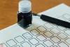 IMG_4513-3 (zunsanzunsan) Tags: 文房具 ペン ラベル インク 筆記具 文具 ペリカン ステーショナリー つけペン ペン字 インキ