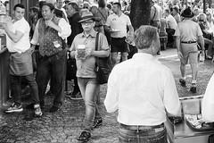 beer (Alexander.Hls) Tags: city blackandwhite beer munich beergarden viktualienmarkt