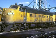 C&NW F7 424 (Chuck Zeiler) Tags: railroad locomotive 424 chz f7 emd cnw