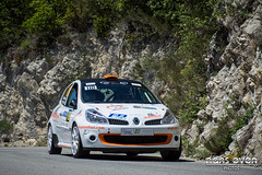 Renault Clio R3 - Ernest PASCAL / Martine PASCAL (nans_even) Tags: auto france cars mobile race rally clio voiture racing renault national cote pascal ernest rallyes extrieur r3 antibes rallye azur voitures martine rallying dazur 2016 championnat vhicule