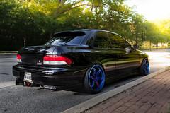 Subaru RSTi (Richy Contreras) Tags: canon racing subaru 5d impreza wrx sti volk stance gc8