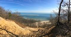Sunken Meadow bluff panorama (Matt McGrath Photography) Tags: panorama newyork beach unitedstates spit longisland northshore kingspark longislandsound sunkenmeadowstatepark