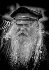 Morris Dancer at the Festival (Andy J Newman) Tags: street portrait england festival silver beard nikon dancing unitedkingdom folk candid dancer gb morris hdr chippenham folkfestival chippfolk d7100 chippenhamfolkfestival silverefex hdrefex
