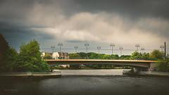 -berspannend- (Thomas Bechtle Fotografie) Tags: sky berlin water clouds river nikon brcke spree brigde kpenick d800