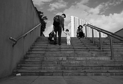 """""""i know son but we have to keep going."""" (hugo poon - one day in my life) Tags: hongkong fatherandson lookingback newterritories x70 reminiscing tungchung citygateoutlets"""