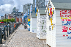 Beach Huts on Strand Street 17th June 2016 June 2016 (Bob Edwards Photography - Picture Liverpool) Tags: street beach strand liverpool huts
